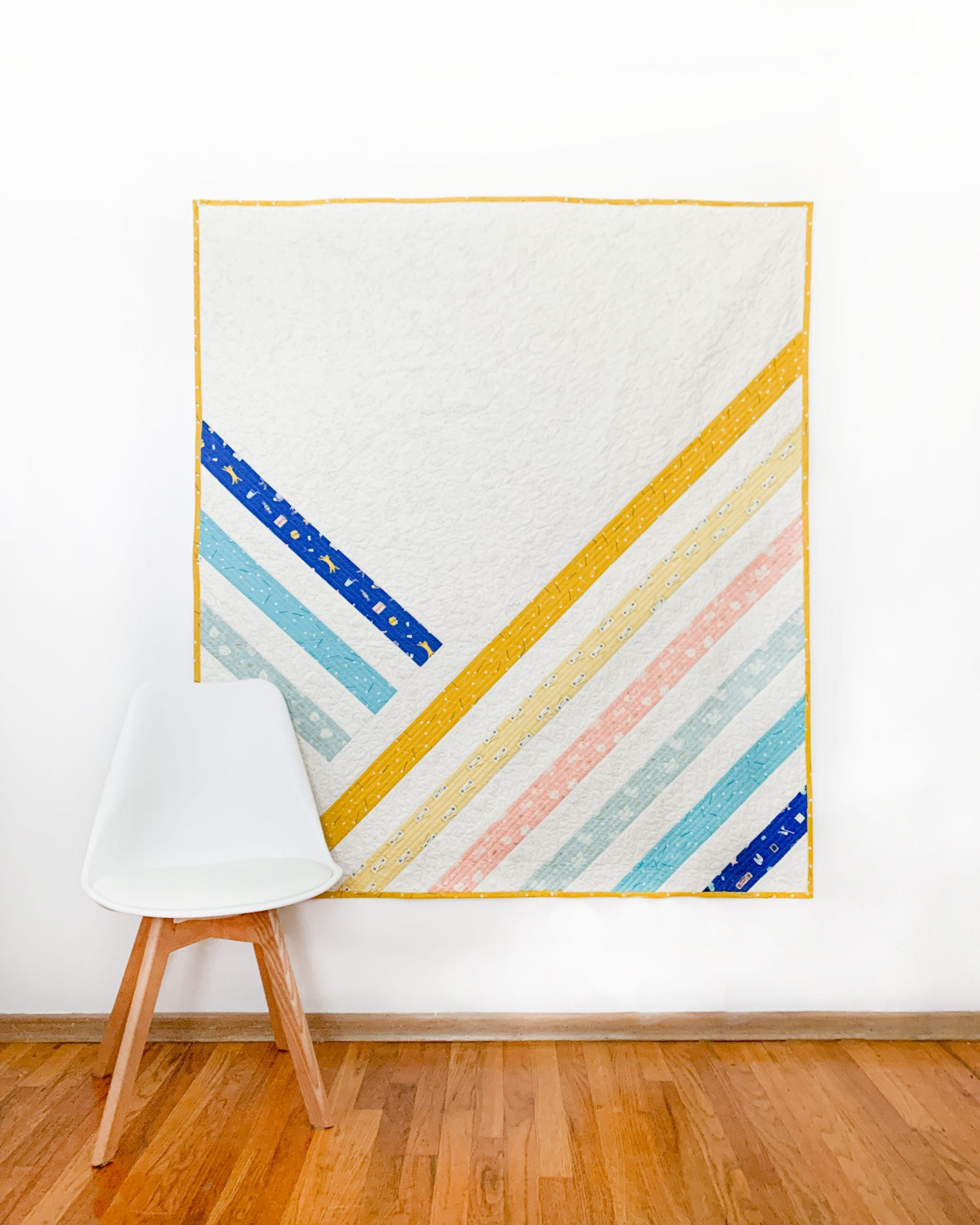 Midpoint quilt by Cotton and Joy patterns