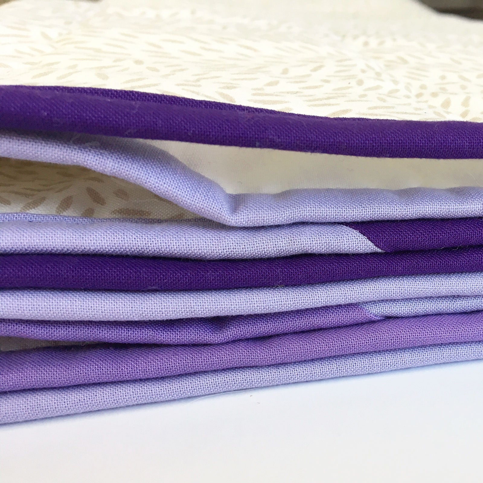 Multicolor Binding in different shades of purple