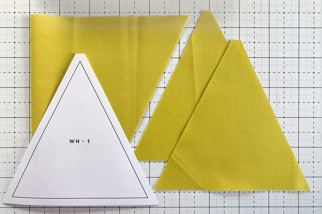 Modern quilting for beginners - cutting templates