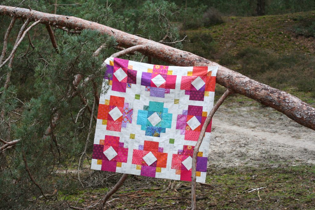 Solstice Lights Quilt Pattern - Testers Versions
