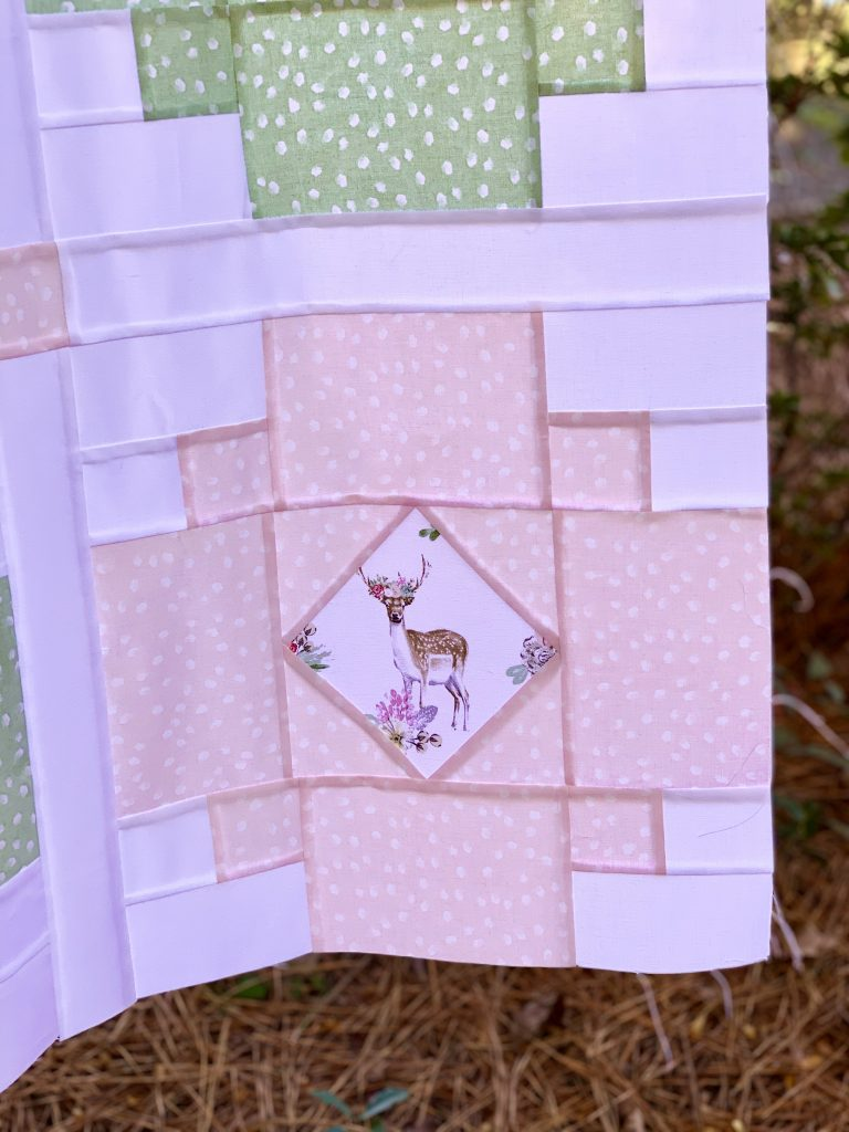 Solstice Lights Quilt Pattern - Testers Versions - Fussy Cutting