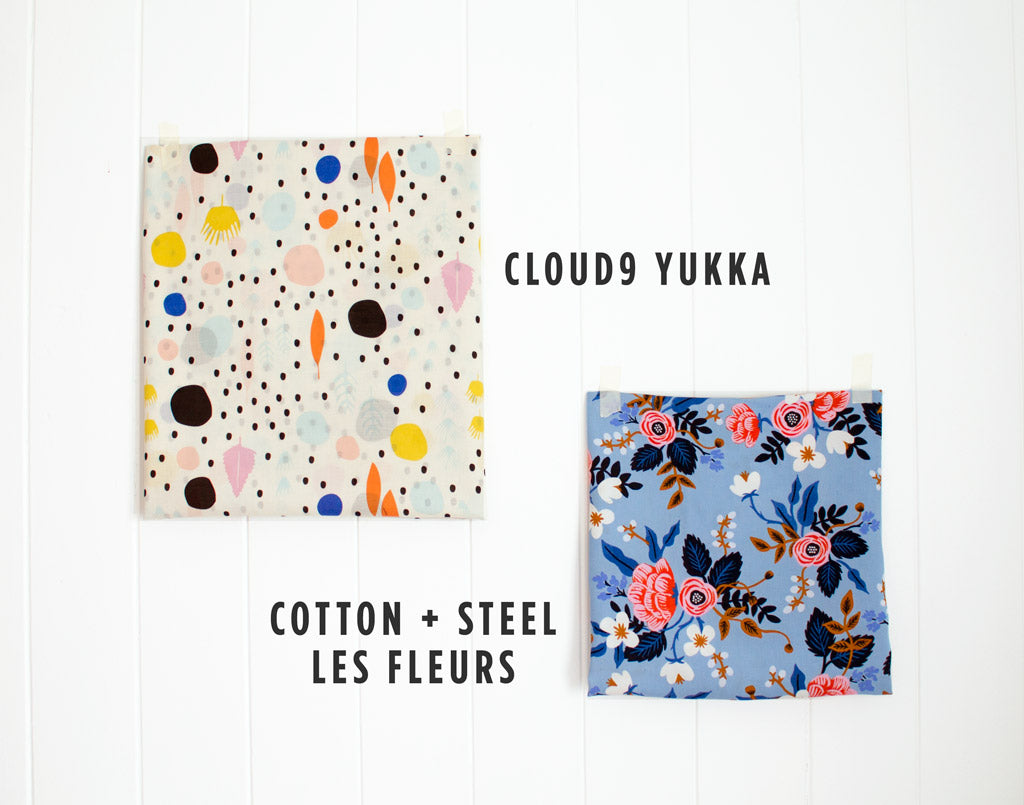 Cloud9 Yukka and Cotton + Steel Les Fleurs