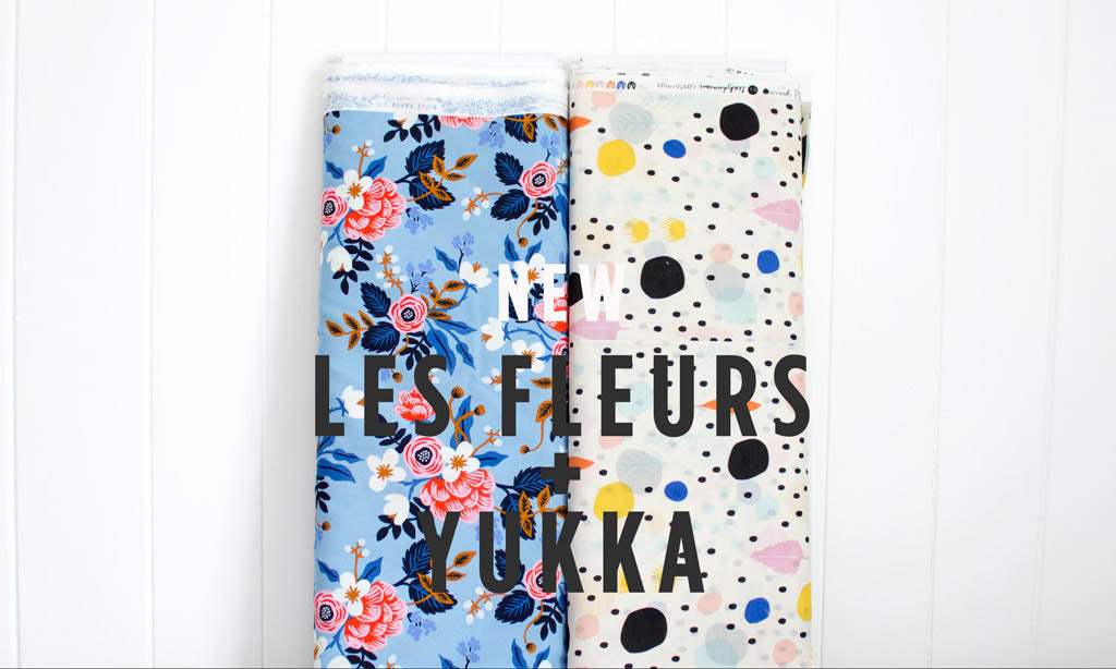 Cloud9 Yukka and Cotton and Steel Les Fleurs