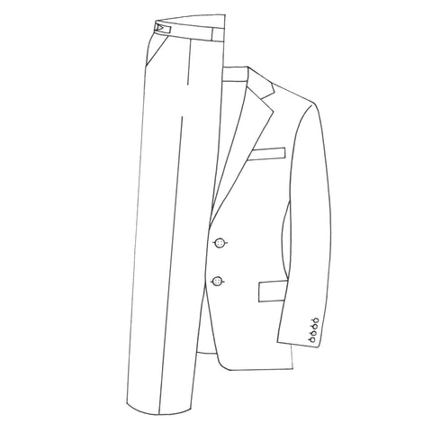 Custom Town Two Piece Suit