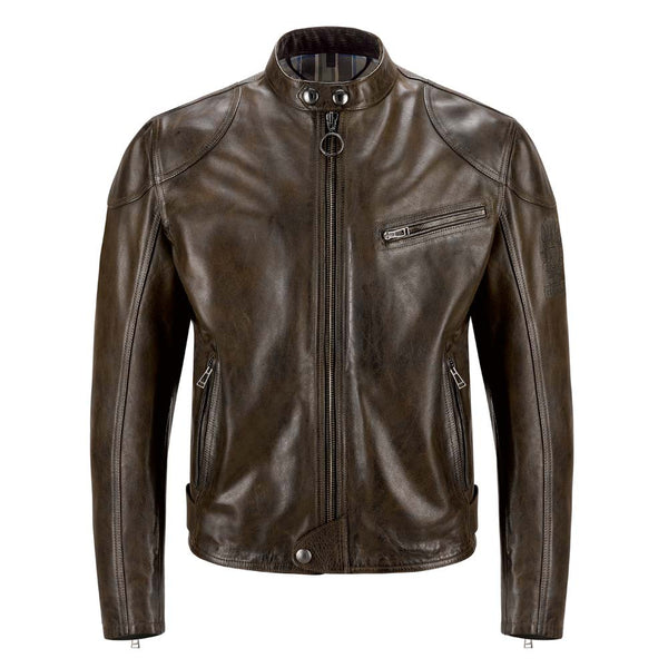 Belstaff Supreme Jacket Black Brown