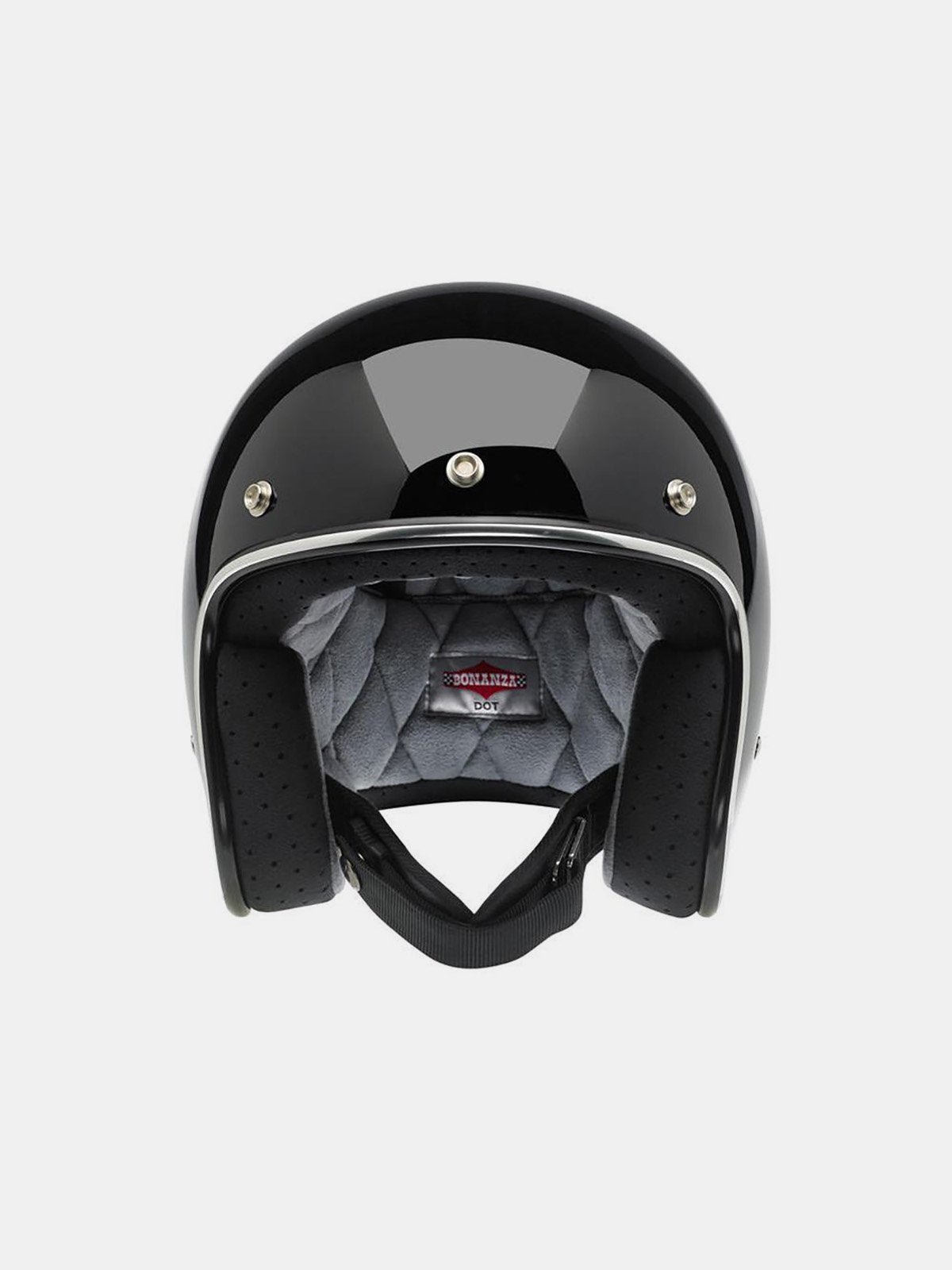 Riding Gear - Biltwell Bonanza Helmet - Grey/Black