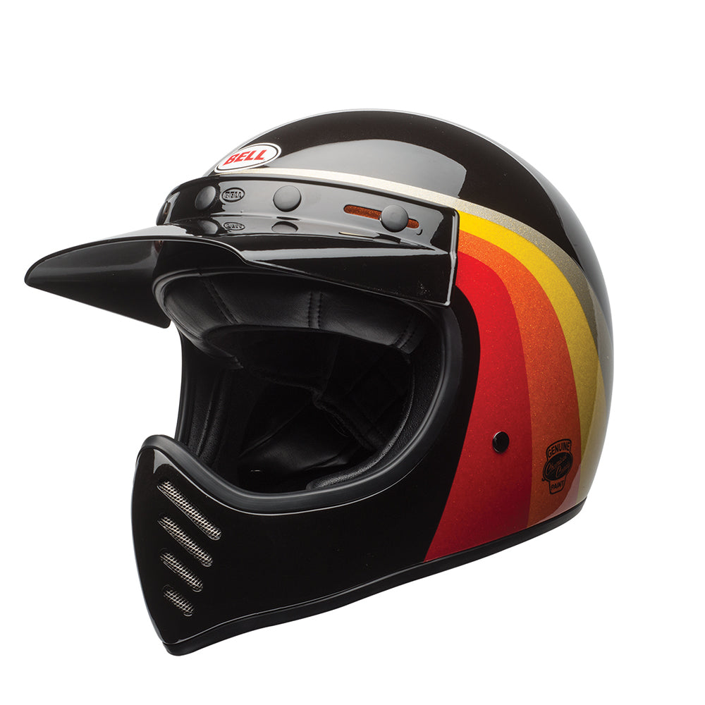 Bell Moto 3 Helmet Chemical Candy Black/Gold