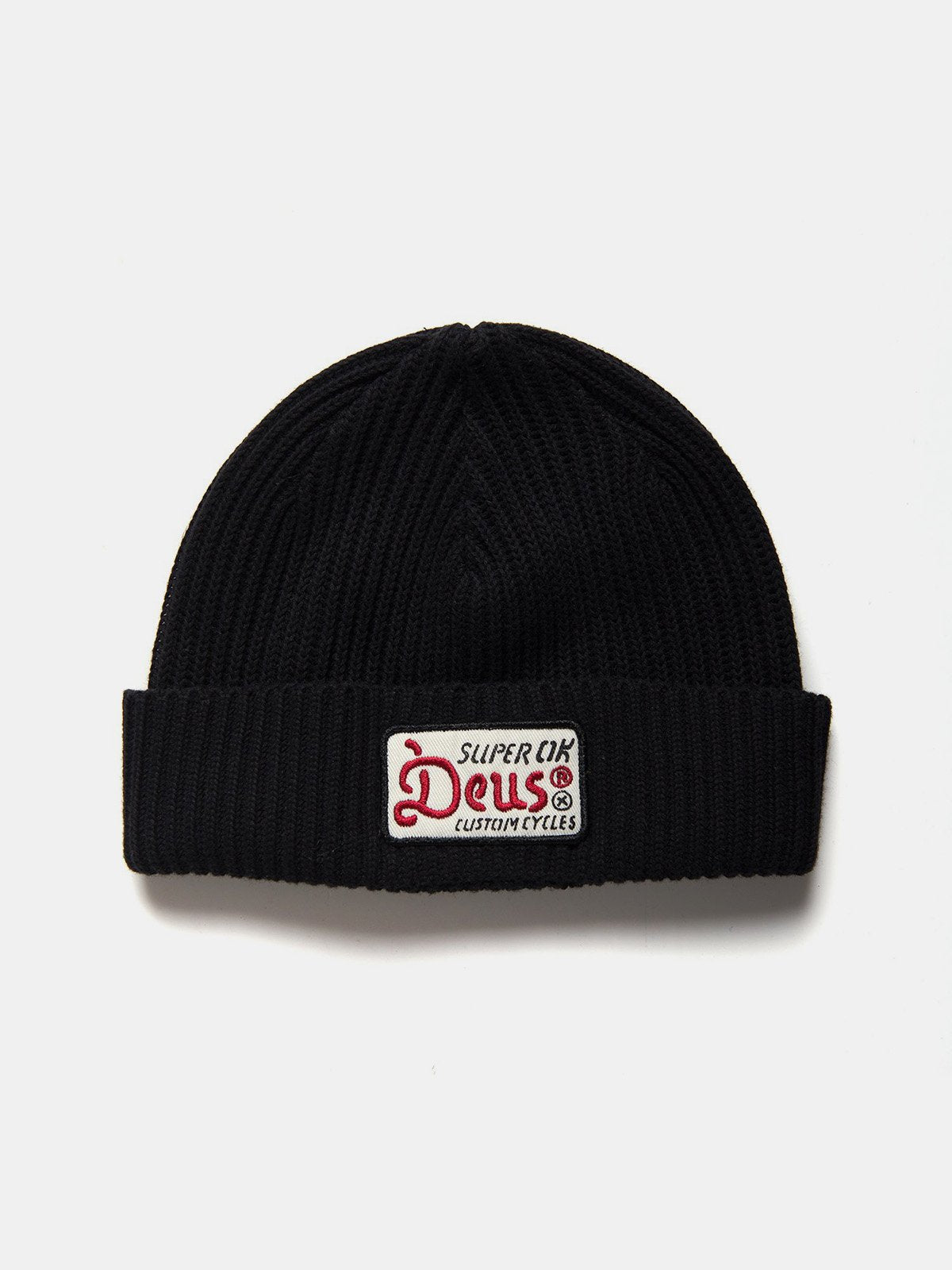Caps & Hats - Deus Okay Beanie - Black