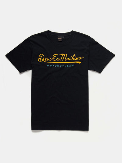 T-Shirts - Deus 2nd Base T-Shirt - Black