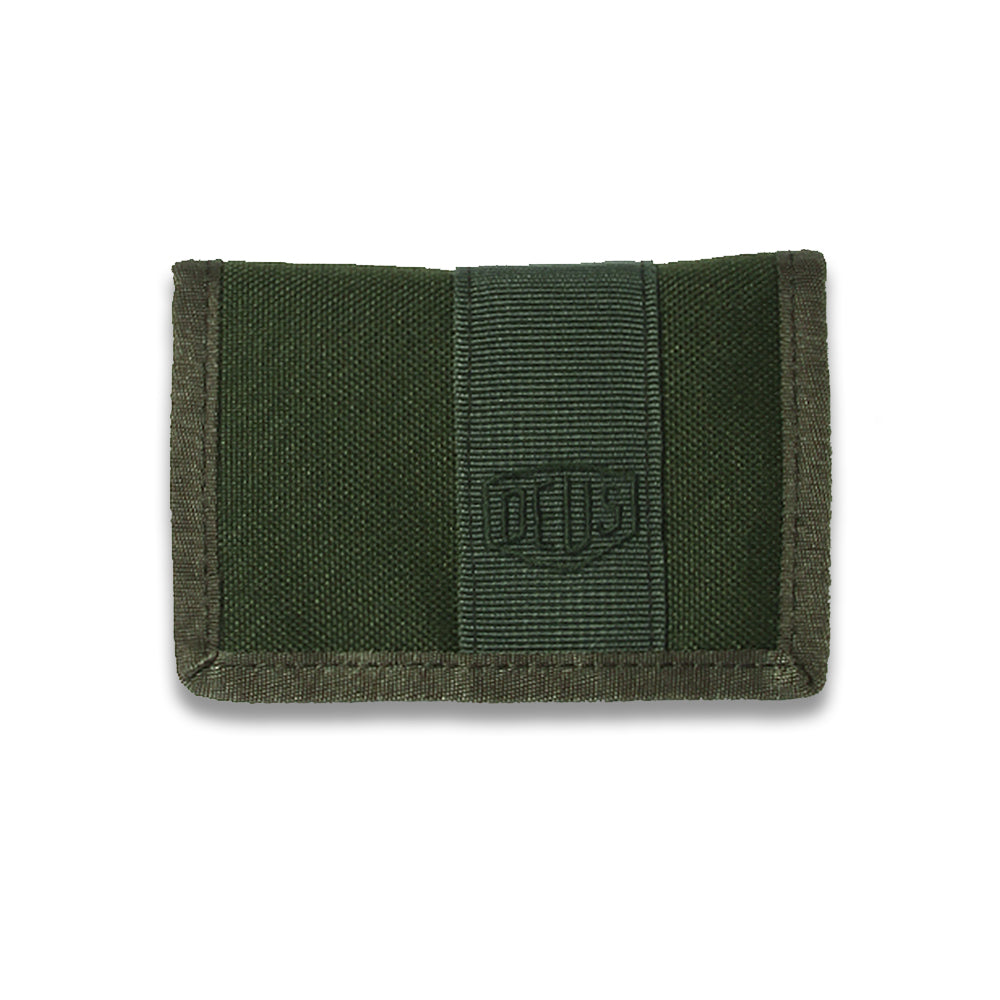 Deus Bi-Fold Wallet Forest Green