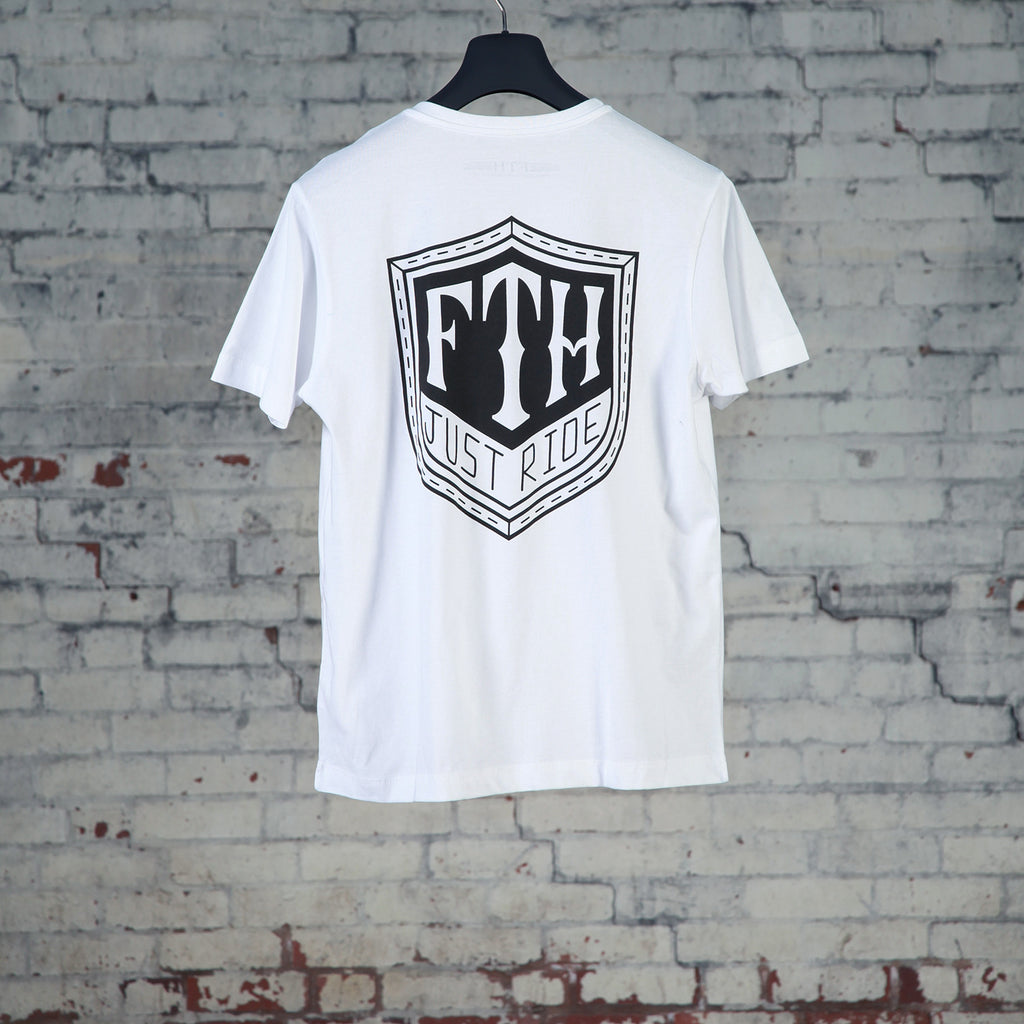 Shield T-Shirt White