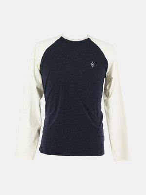 T-Shirts - Kytone Sticks Long Sleeve T-Shirt - Navy/White
