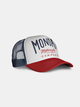 Caps & Hats - Mutt Mondays Logo Cap - Navy/Red/White
