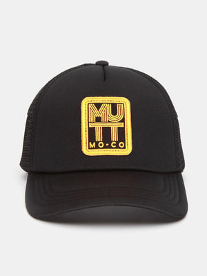 Caps & Hats - Mutt Lines Cap - Black/Yellow