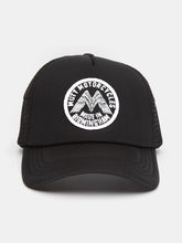 Caps & Hats - Mutt Wings Patch Cap - Black
