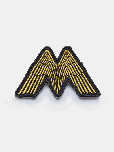 Pins & Patches - Mutt Solo Wings Patch - No Colour