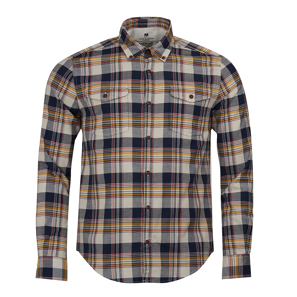 Steve McQueen King Check Shirt