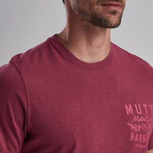 Barbour X Mutt Wings Tee Red