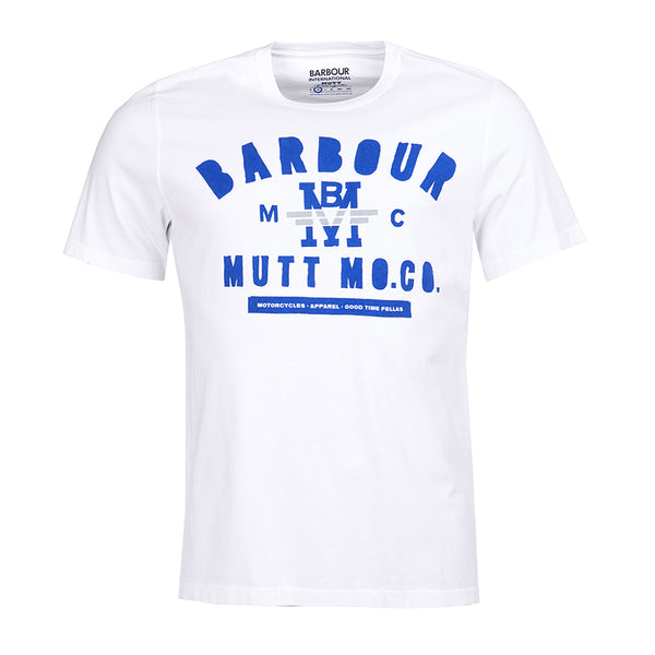 Barbour International X Mutt Motorcycles Tshirt