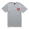 SENTIMENTS TEE GREY MARLE