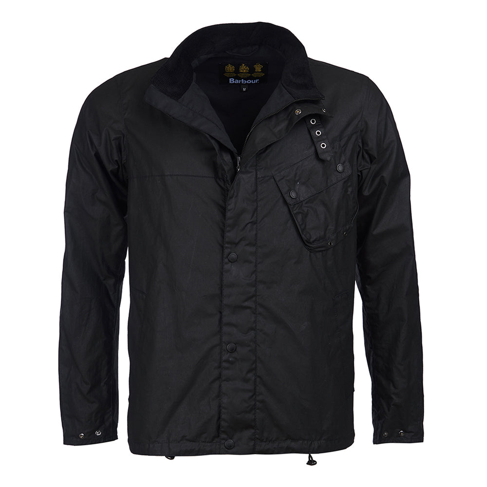 Beech Wax Jacket Black
