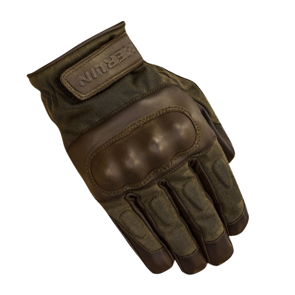 Merlin Ranton Waxed Leather Gloves - Brown
