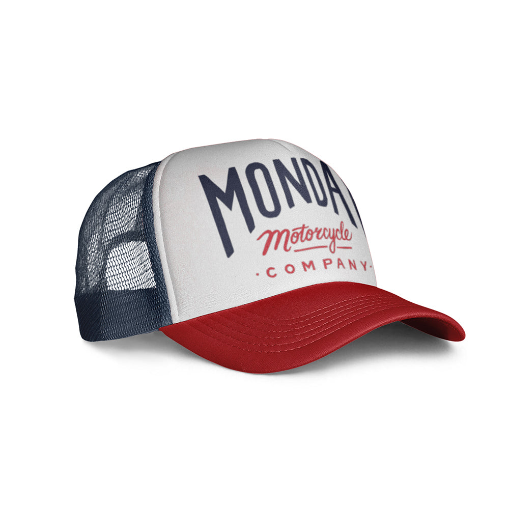 Monday's Logo Cap Navy/Red/White