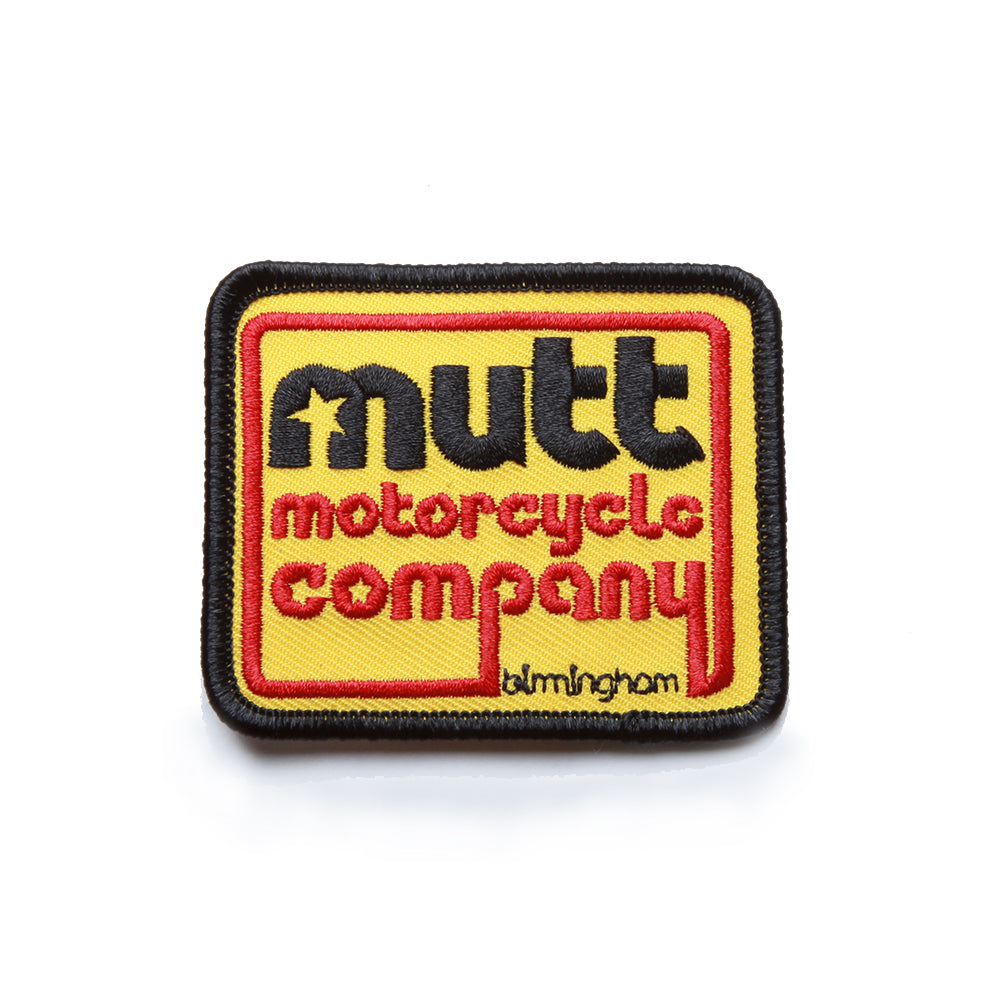 Mutt 70's Patch