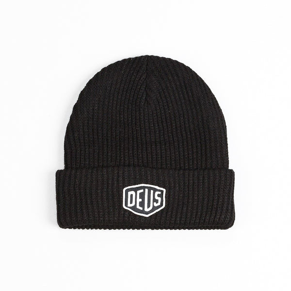 Deus Shield Beanie - Black