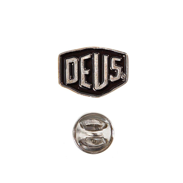 Deus Shield Badge Black