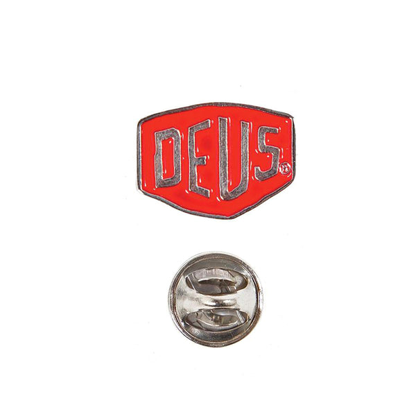 Deus Shield Badge Red