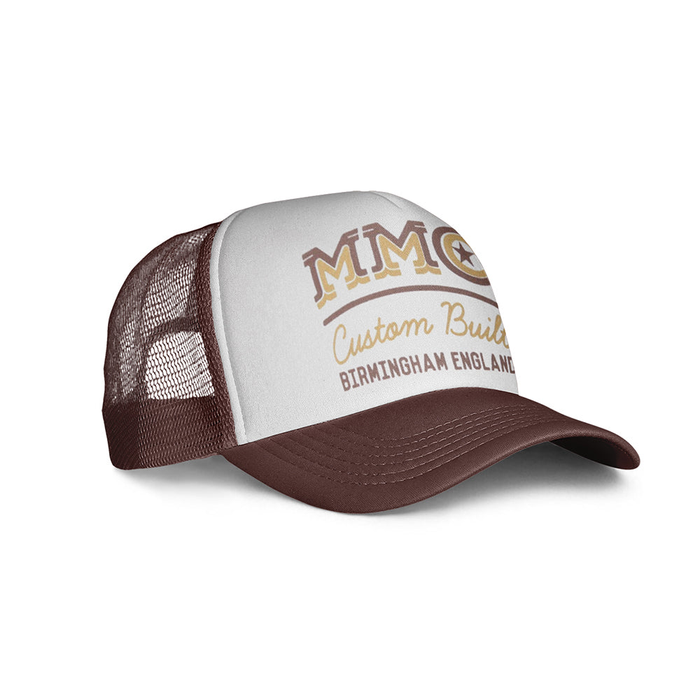 Mutt Star Cap Brown/White
