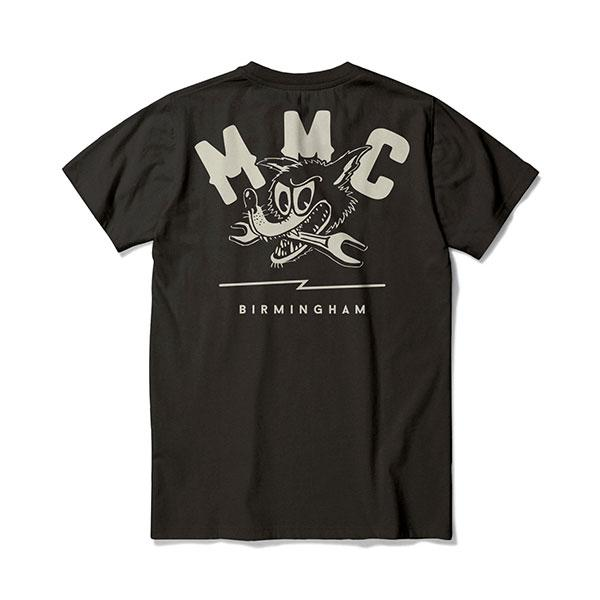 New Mutt Spanner T-Shirt Black