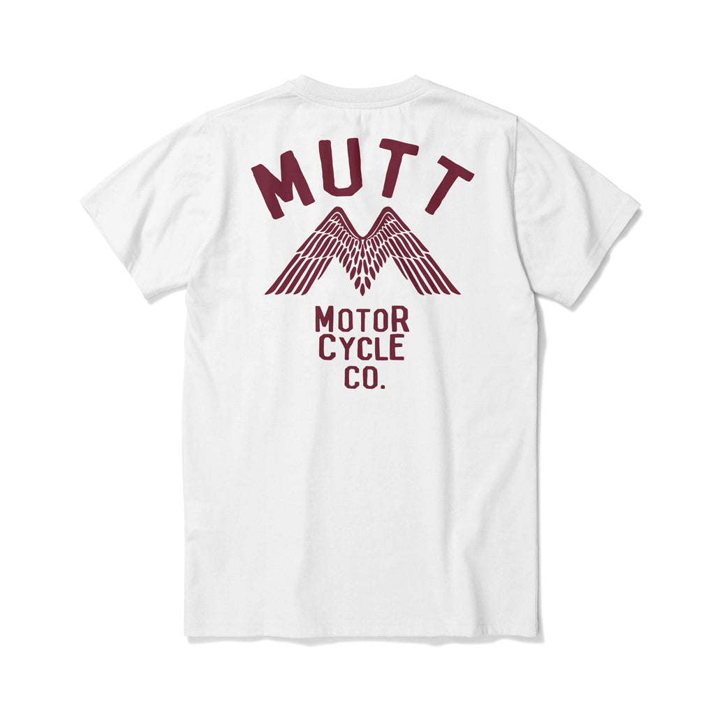 Mutt Wings T-Shirt White