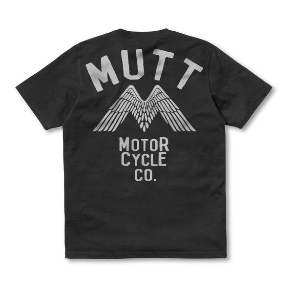 New Mutt Wings T-Shirt Black