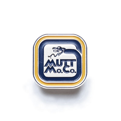 Mutt Racing Snake Enamel Pin