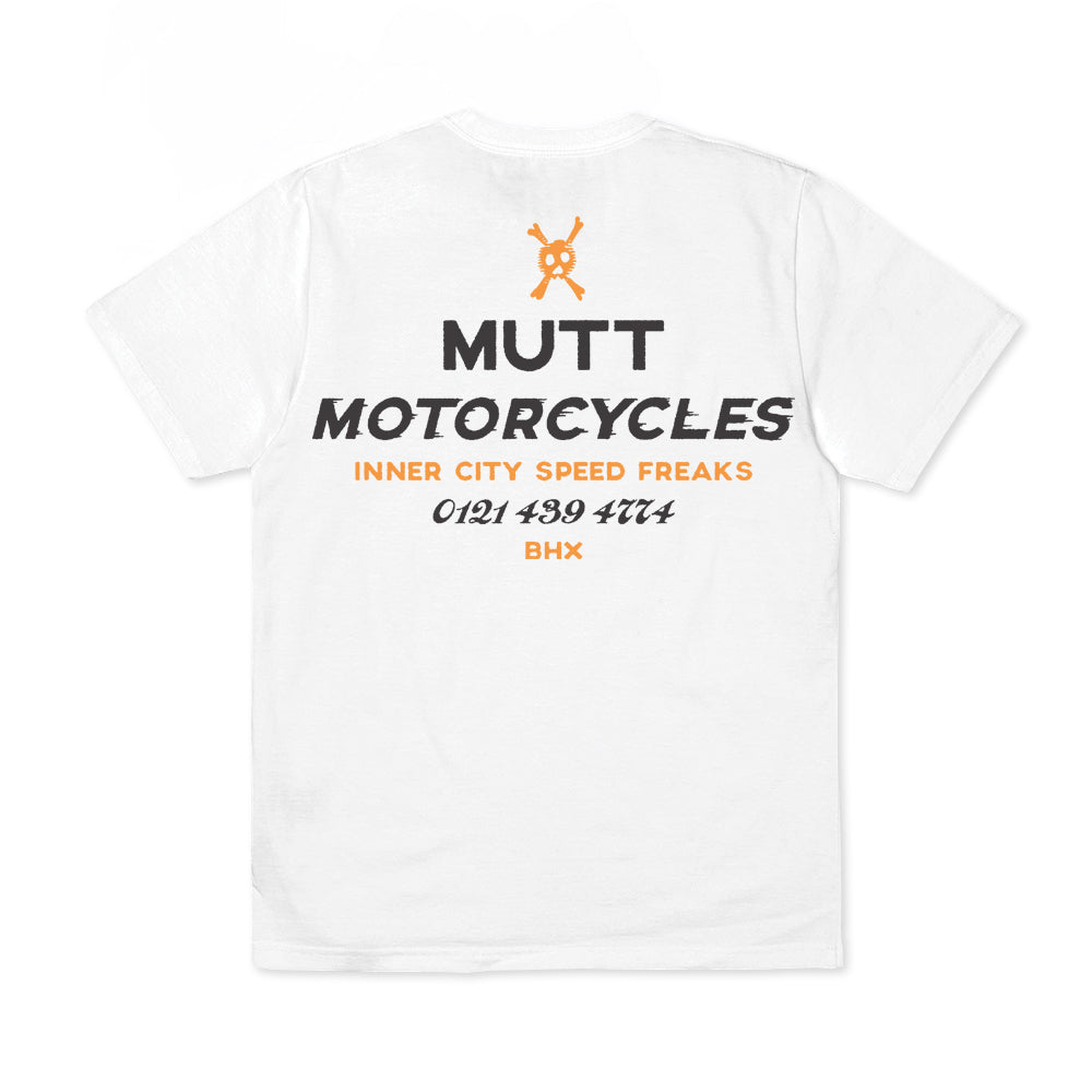 Mutt Speed Freaks T-Shirt White