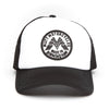 Mutt Wings Patch Cap - Black/White