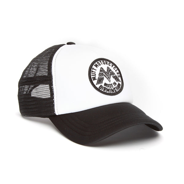 Mutt Wings Cap - Black/White