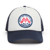Mutt Wings Patch Cap - Navy/Grey/Red