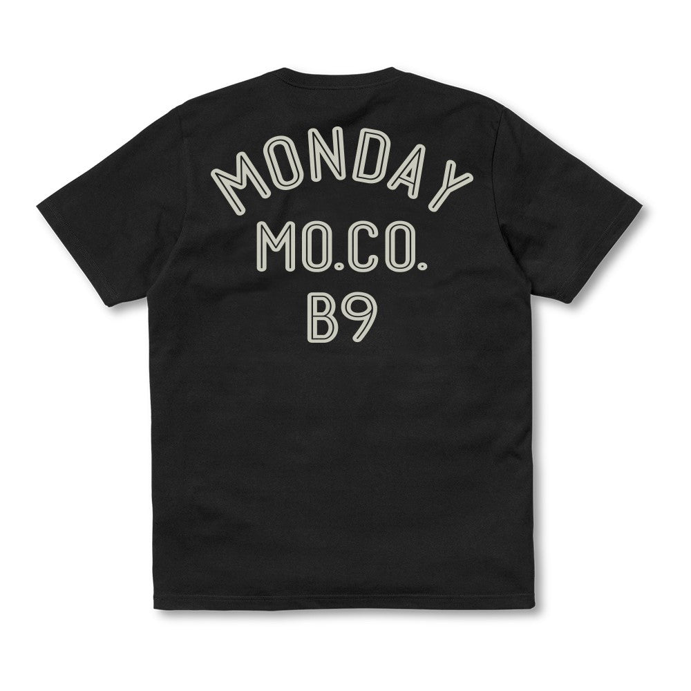 Monday Chain T Shirt Black