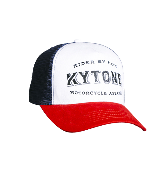 "Kytone ""Free Cut"" Trucker Cap Navy/Red"