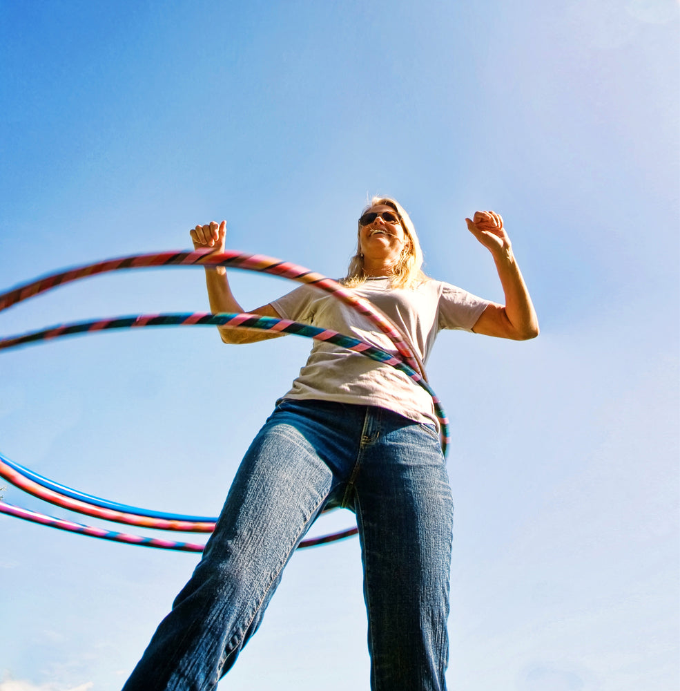 hula hooping benefits