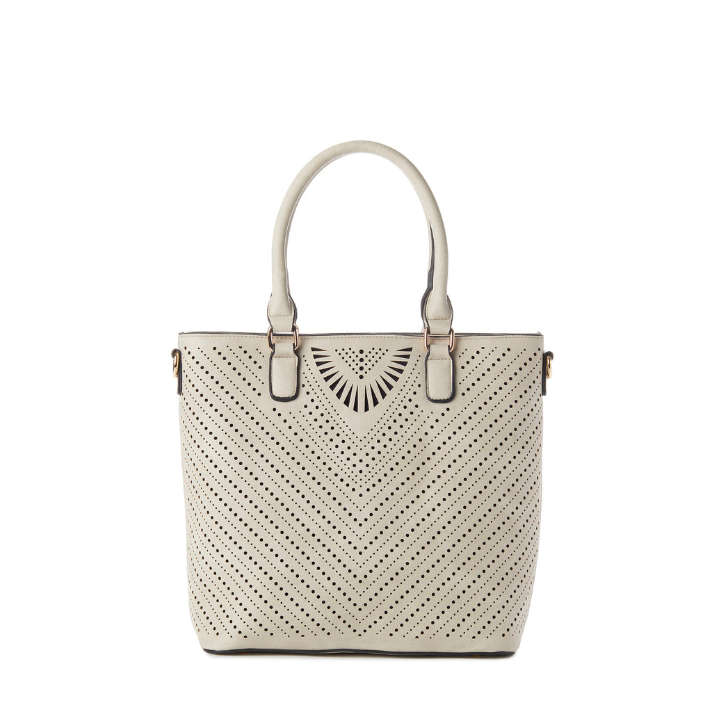STACY Perforated Tote Bag