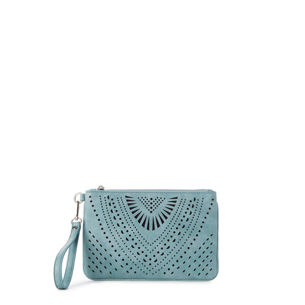 IVY Perforated Wristlet