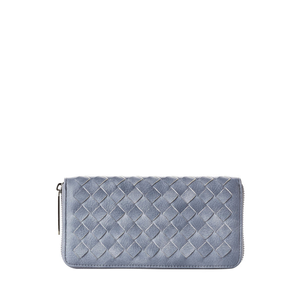 Woven Wallet - Vegan Leather