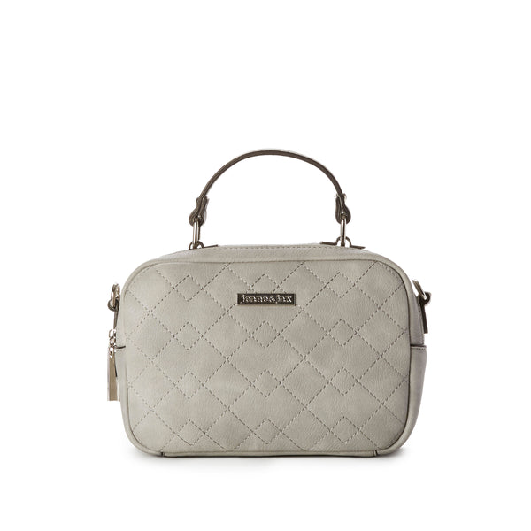 ASHLEY 2-Pocket Quilted Crossbody Bag