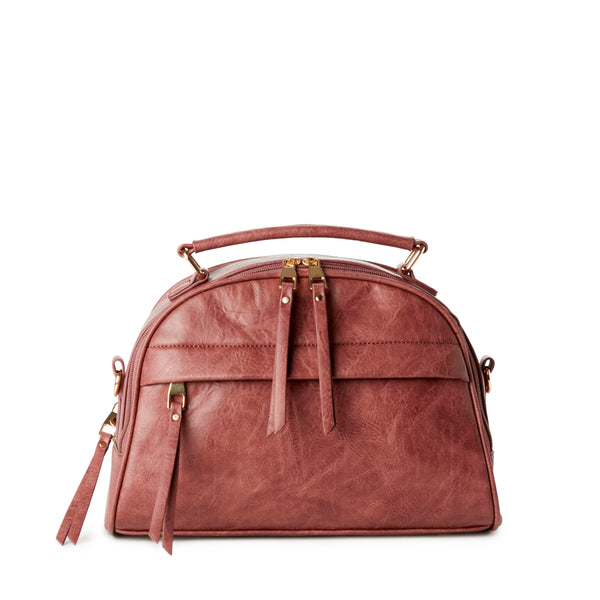HEIDI 2-Pocket Satchel Bag