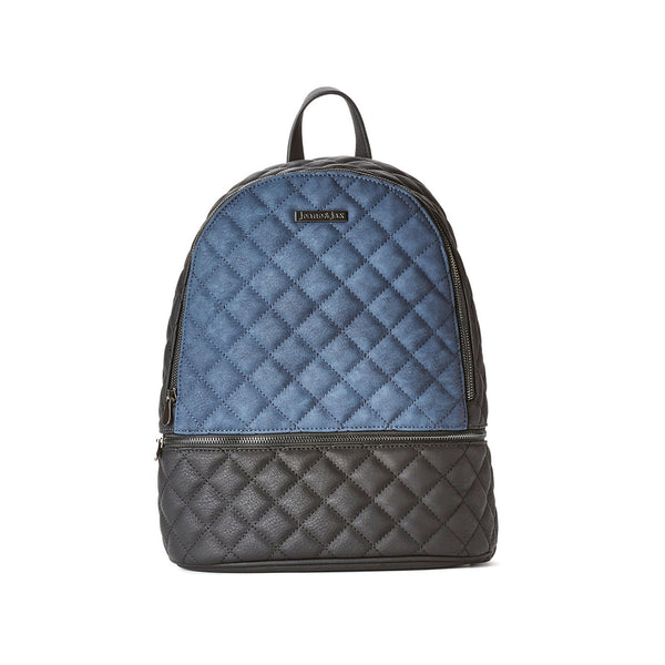 Quilted Backpack - Vegan Leather