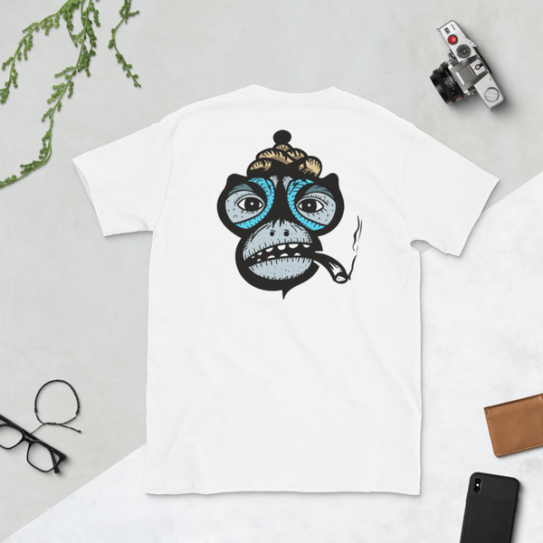 T-shirt Smoking Monkey